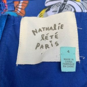 Anthropologie Dresses - Anthropology Nathalie Lete Paris Strapless Dress